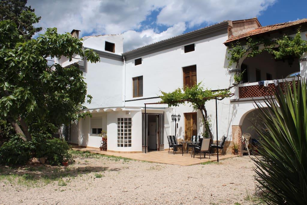 Casa de naranjos con piscina casas de campo en alquiler for Camping con piscina climatizada en comunidad valenciana