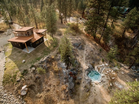 Горячий источник и кабина Southfork Springs Private