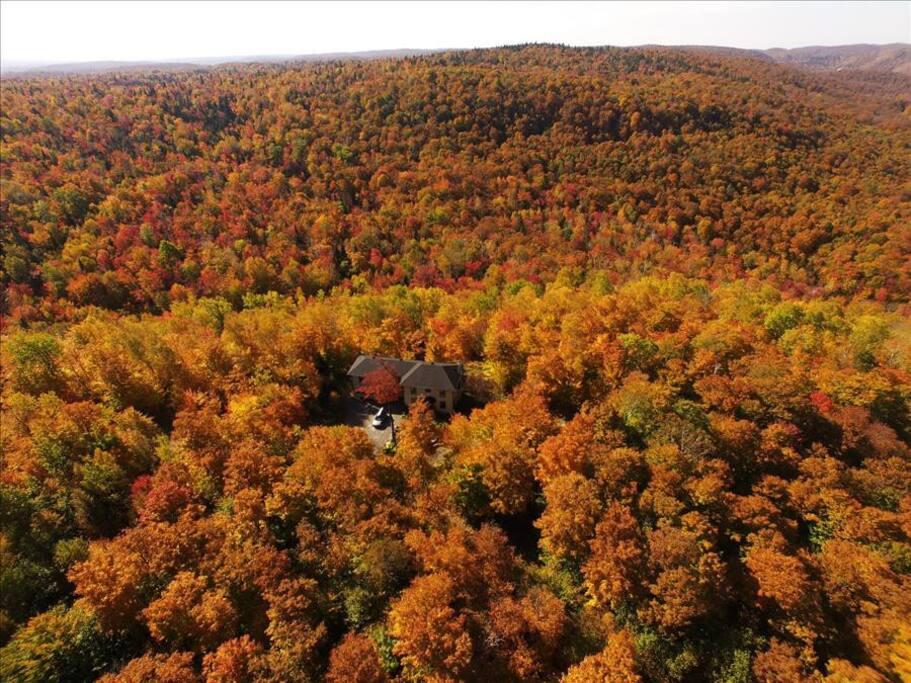 Chalet a louer Blue hill spa automne