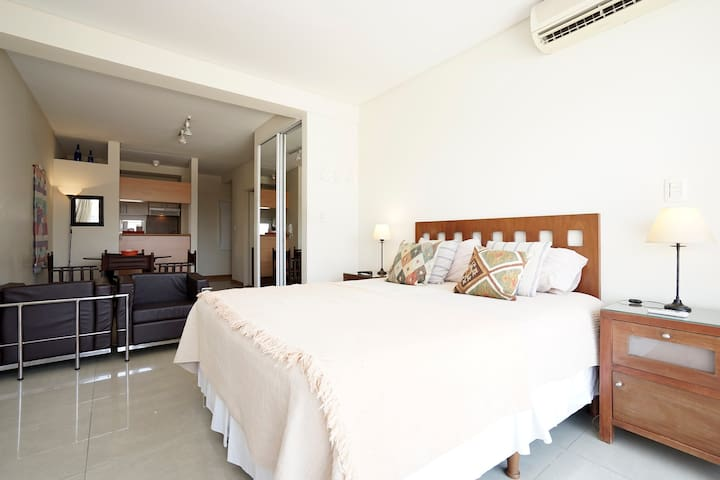 Sunny studio full equiped - Buenos Aires - Appartement