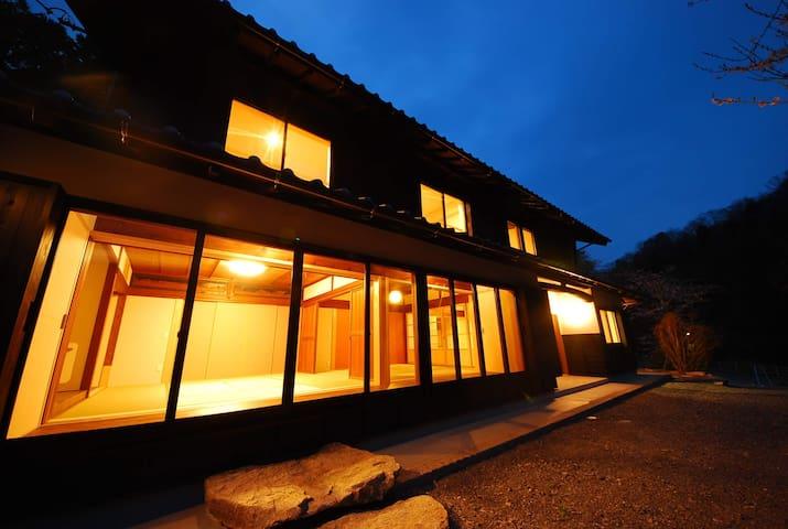 花火・BBQ OK! KOMINKA HOTEL 四季の家 里山に佇む特別な家・リノベーション古民家