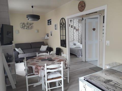 Appartement T2 36m² proche centre 3* parking privé