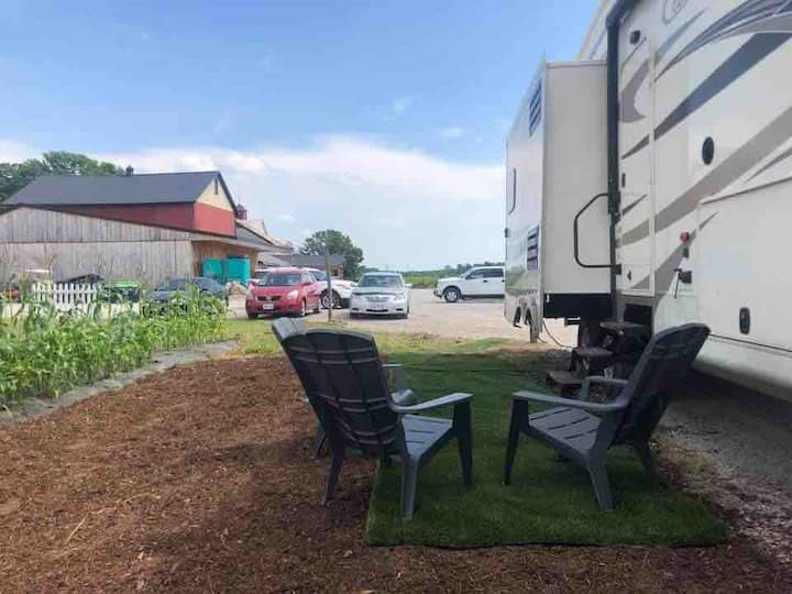 Private RV on Farm and Winery