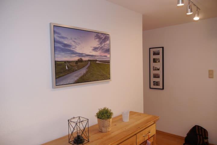 Bunte Wohnung im Herzen Oldenburg's