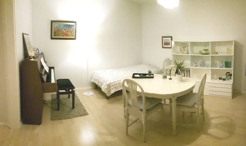 Spacious 2-room apartment, beautifully furnished - Tampere - Lejlighed