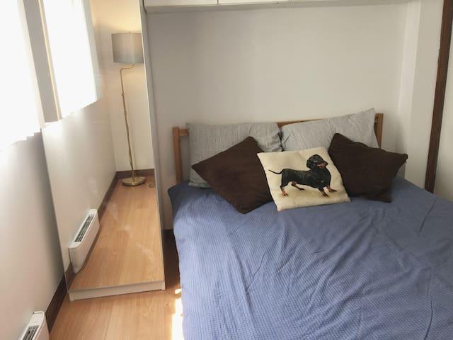 Private room  by the river, U Concordia