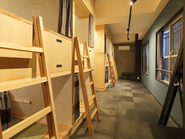 [Mixed Dorms]Tokyo Guest House JR Tabata #M5