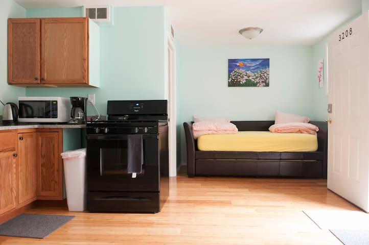 Cozy apartment in quiet residential area