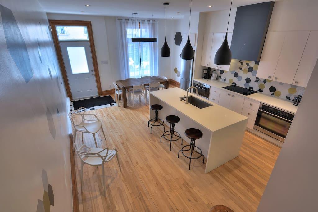 Luxury Kitchen View 2
