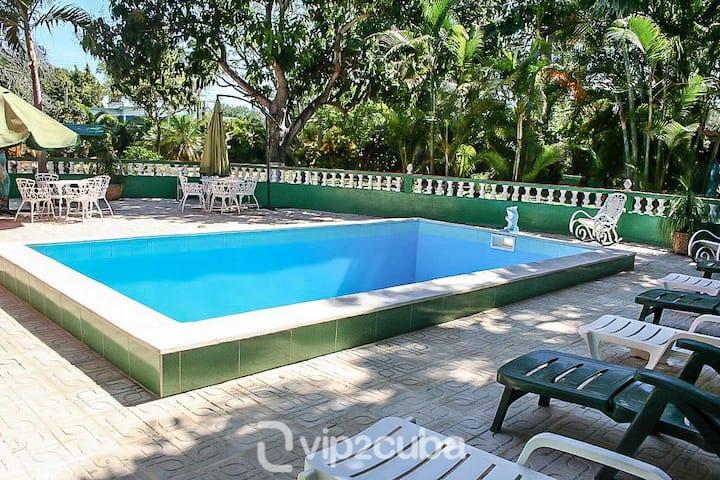 Luxury German Architecture 6BR Villa in Siboney