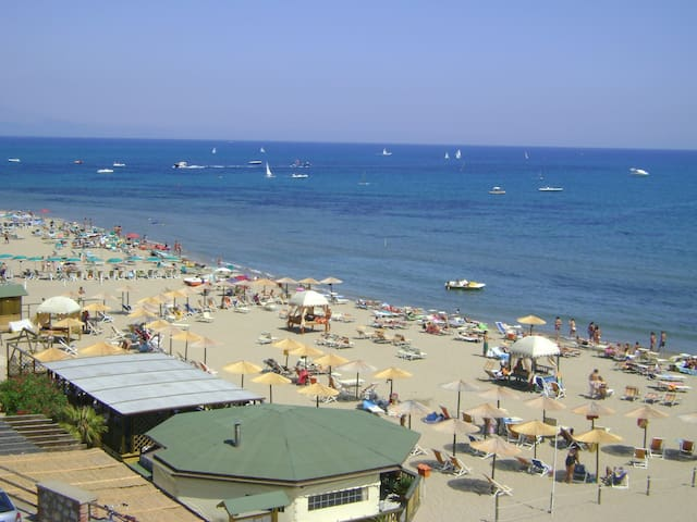SEA VIEW Apt.|BEACH in few metres - San Felice Circeo - Apartamento