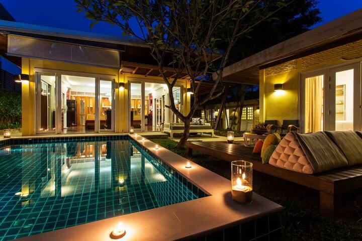 Luxury Chiang Mai 3 Bedroom Pool Villa