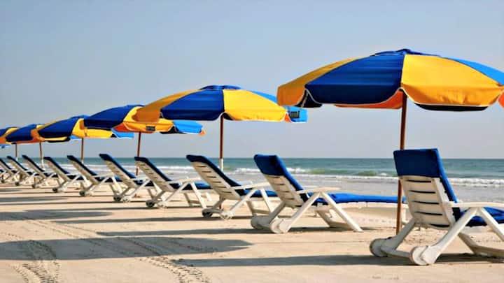 2Bd-Pool, Slides, Pool Bar, m-golf, Gym, Beach!