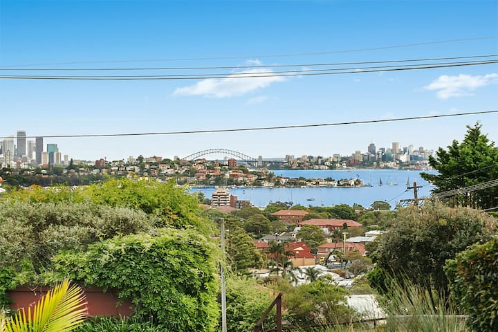 sensational villa with harbour bridge views - Dover Heights - วิลล่า