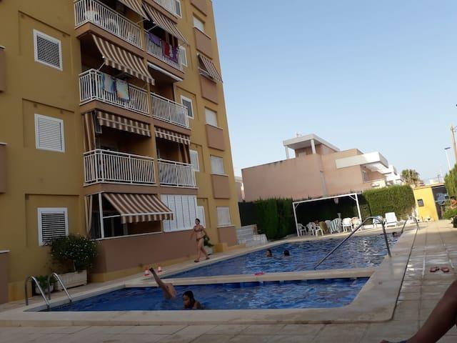 Cómodo apartamento  en Puerto de Mazarrón