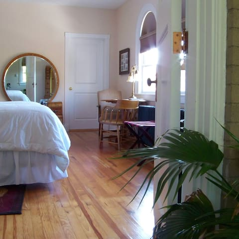 View of room from the sitting room
