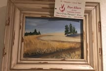 Heart of the Palouse, oils  $100