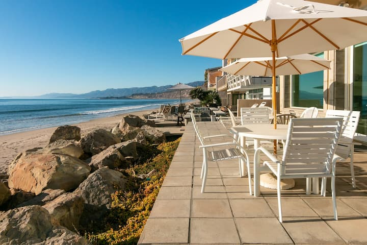Luxe Beachfront Dream w/ Private Balcony & Patio