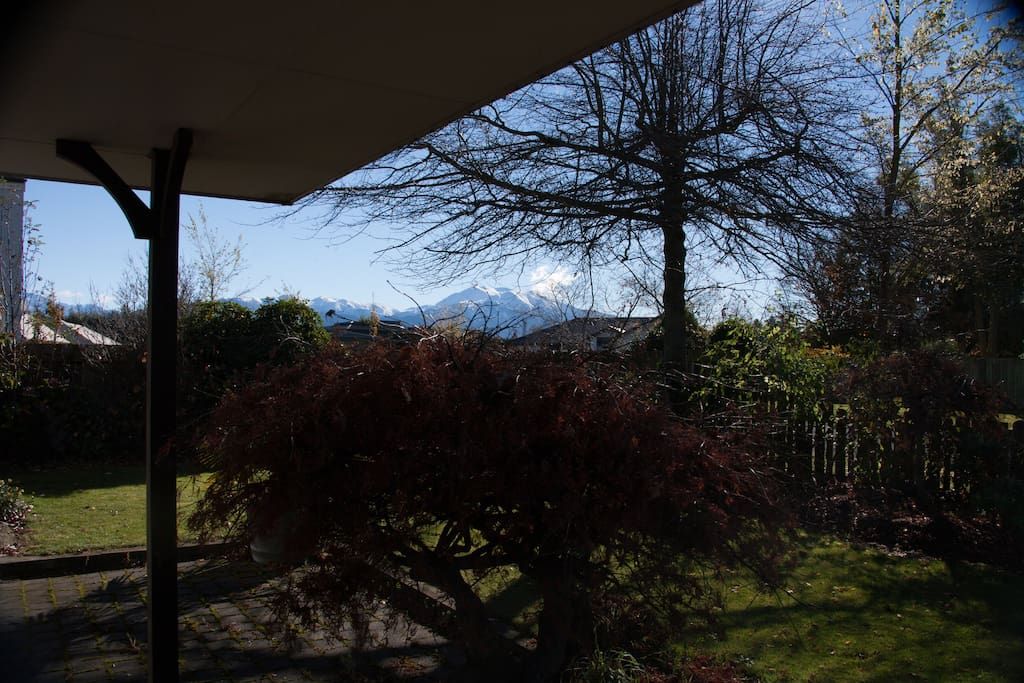 Views from the verandah
