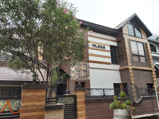 Nilayam, contemporary home for a relaxing stay