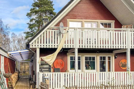 Holiday apartment with 1 bedroom on 70m² in Lönneberga