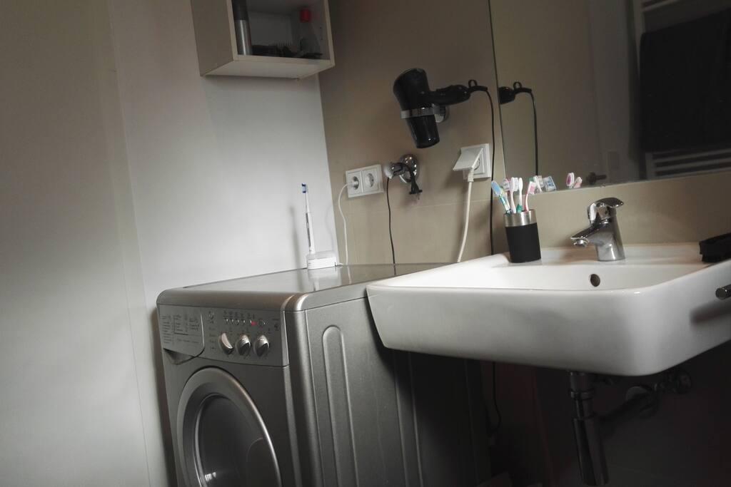 Waschtrockner (waschen und trocknen)