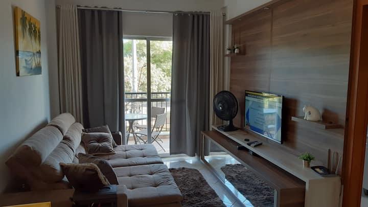 Apartamento completo, confortavel e seguro!!
