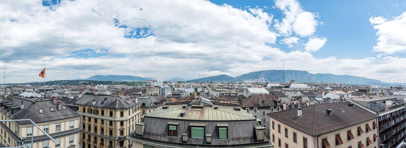 Hôtel Bernina Genève - Genf - Bed & Breakfast