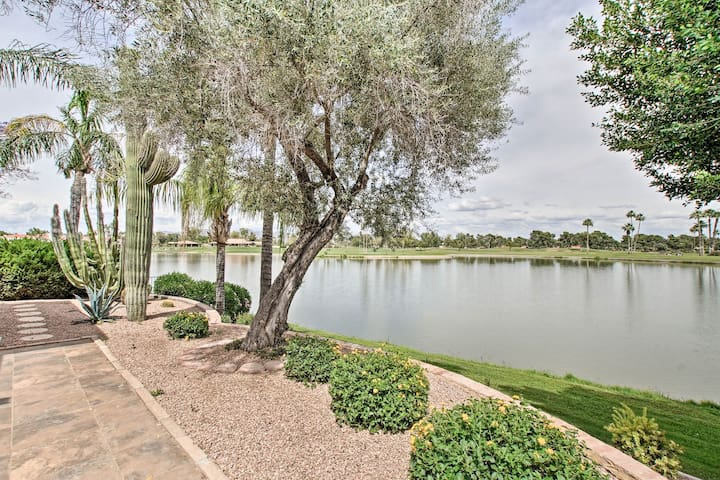 NEW! Waterfront Condo-5 mi. to Old Town Scottsdale