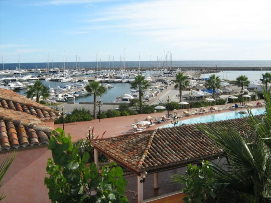 View of Capitana, in the Costa degli Angeli.  A very good location, near the most beautiful beaches in Sardinia and only 12 km. from the main town.