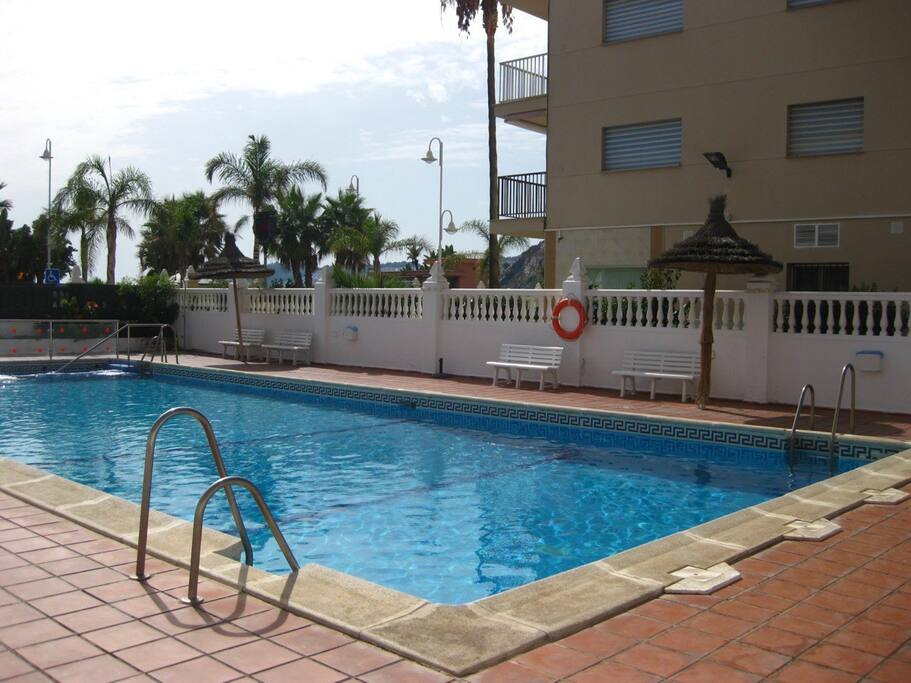 Lovely Seaside Family Apartment With Pool Apartments For Rent In Almu Car Andaluc A Spain