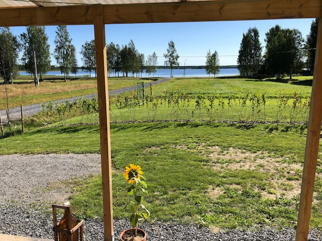 Cozy cottage with lake view, Norra bergfors
