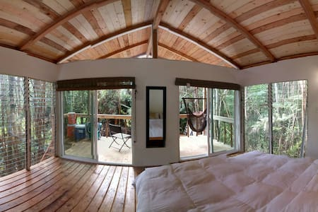 360 Panoramic Treehouse - Mountain View - Casa na árvore