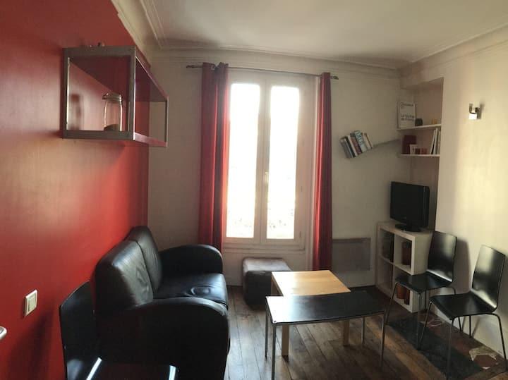 Chambre privé à Marcadet Poissonier Paris 18eme