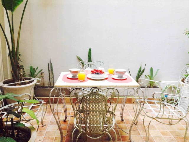 Oasis in the heart of Recoleta