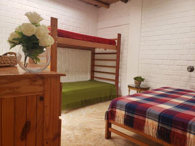 Dormitorio para 4 personas