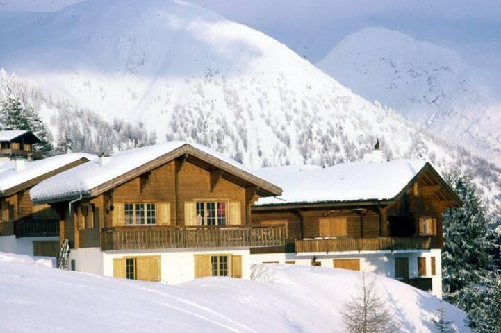 Chalet au choeur des Alpes, Rosswald, Valais - Rosswald - Prázdninový dům