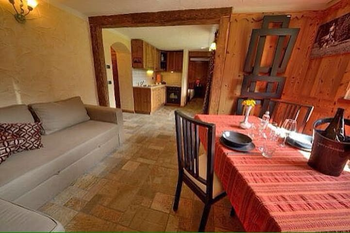 Lovely apartment in Cogne – Private garden. - Cogne - Appartement
