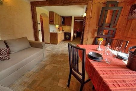 Lovely apartment in Cogne – Private garden. - Cogne - Apartemen