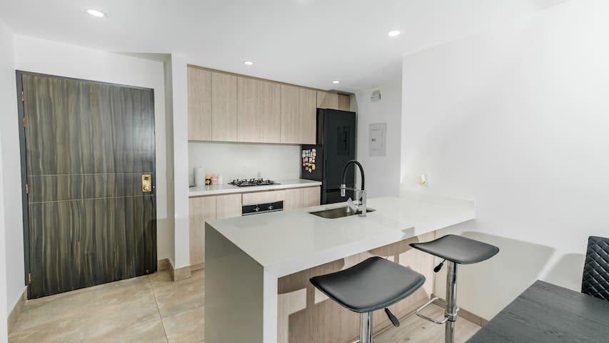 Moderno Apartamento Santa Barbara 122 Cerca a todo