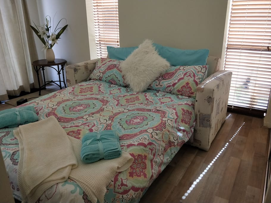 Queen Size pull out divan