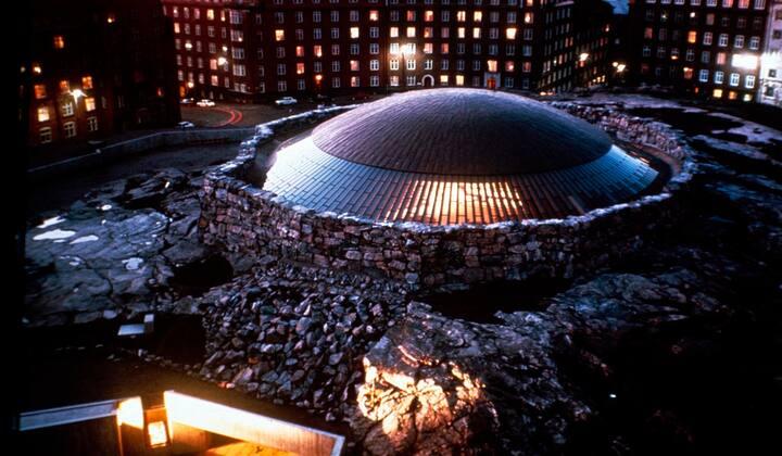 Center of Kamppi & Helsinki Temppelikatu!