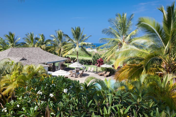 Kona's best: 3/2 home, private pool, walk to ocean
