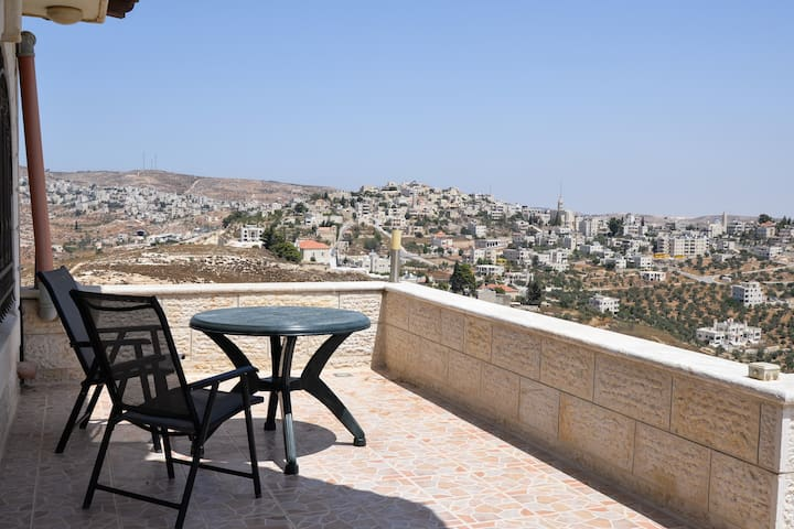 Apartment in Taybeh With Massive Rooftop Terrace