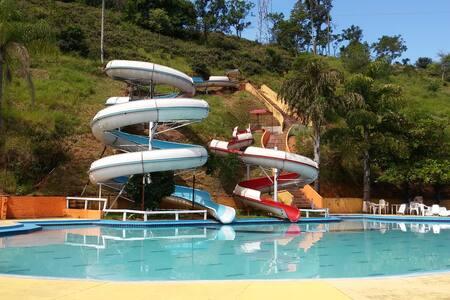 Pousada com parque aquático - Tremembé - 家庭式旅館
