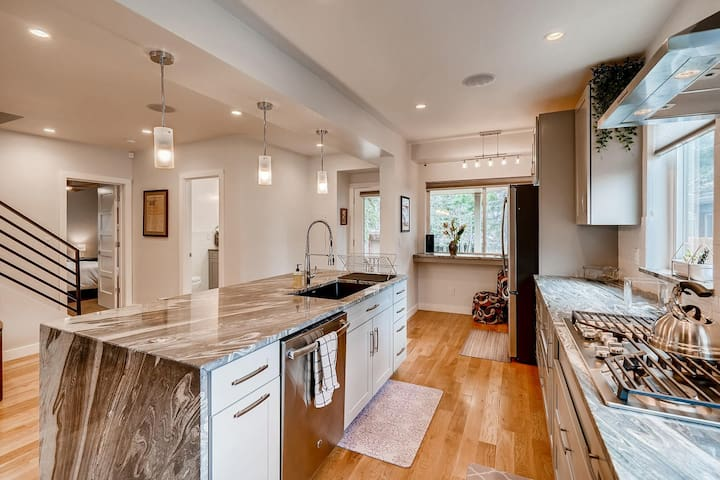 Beautiful new home in downtown Boulder location.