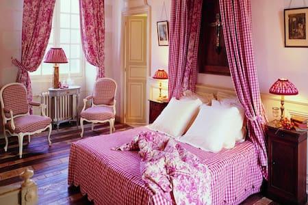 La chambre Caroline au Château de Chambiers