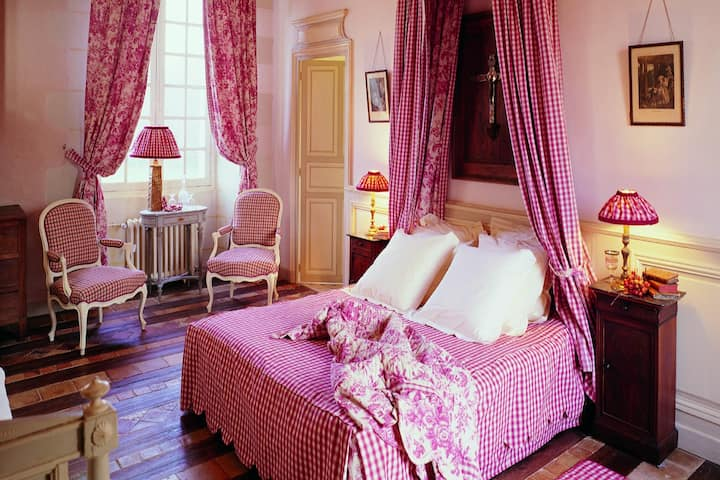 Room Caroline at Château de Chambiers