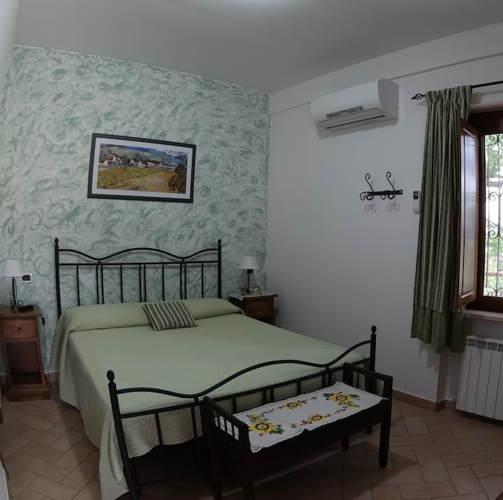 Double room and breakfast in B&B Le Terrazze