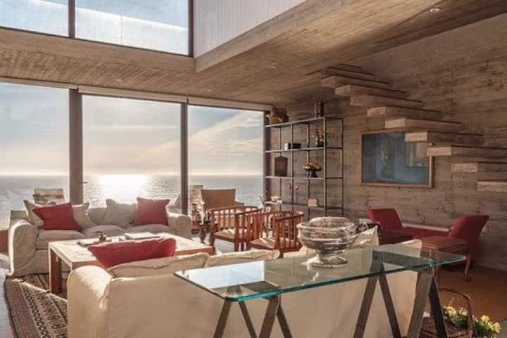 Zapallar Norte Insuperable Vista y Arquitectura